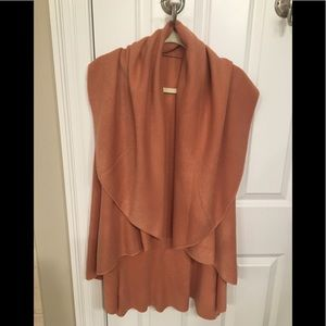 Anthropologie draped sweater vest